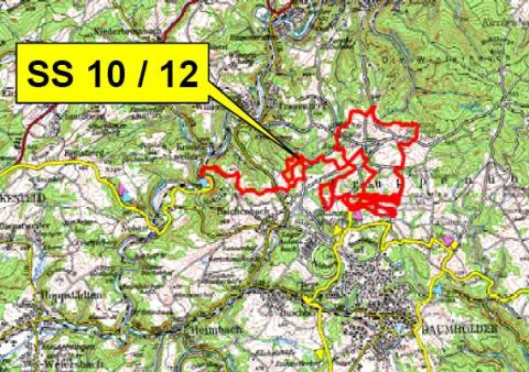 Sports Motorsports Auto Racing Rallying Drivers on Rallye Deutschland  Baumholder   Panzerplatte Stage